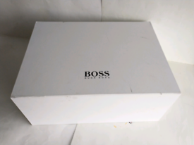 NEW Hugo BOSS White Storage Boss Box
