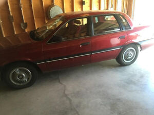 Great looking 1989 Mercury Topaz for sale