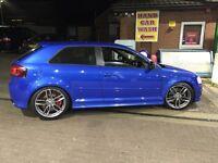 Audi s3 2.0tfsi facelift Px swaps RARE SPRINT BLUE!