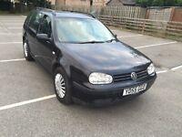 2005 (55) Volkswagen Golf sdi estate (diesel) 1 owner from new, 12 months mot £1200
