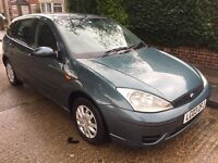 FORD FOCUS 1.8 DIESEL 2003-MOT DECEMBER-CHEAP CAR £395
