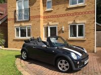 Mini Convertible Cabriolet One with Cooper stripes 2006
