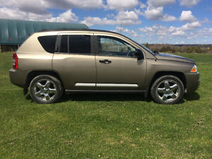 2008 Jeep Compass Limited Heated Leather & Sunroof