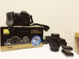 Nikon D50 - only 6765 Shutter Count