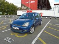 Ford Fiesta 1.4 Ghia leather seats.