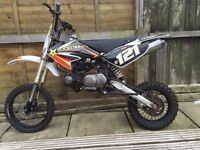 Crf 70 with Lifan 125 x2 160 engines pit bike kx cr