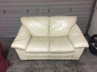 Leather sofa and fabric sofa for sale