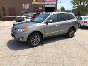 2011 Hyundai Santa Fe Limited AWD/V6/NO ACCIDENT