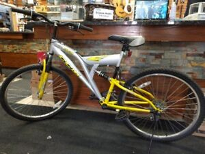 2 adult mountain bikes for sale