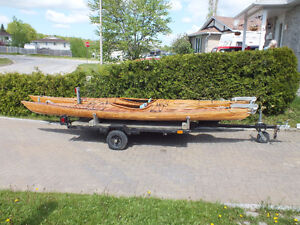 Cedar strip  sea kayaks