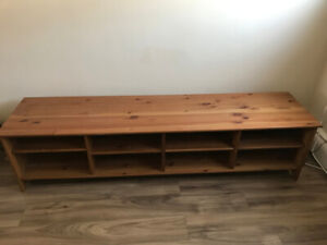 Wood TV Stand / Entertainment Unit
