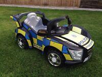 Police interceptor ride on