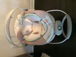 Baby Bouncer- Bright Starts Inginuity Automatic Bouncer (Shiloh)