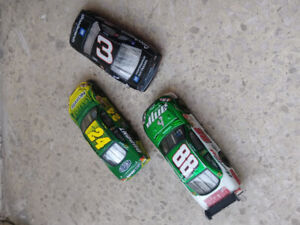 Nascar ..small scale ..diecast ..track cars...and t shirt