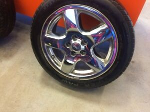 4 RIMS/TIRES FOR SALE IN FORT SASKATCHEWAN