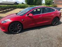 2020 Tesla Model 3 Performance, , Panoramic Roof, 20 inch Alloys Auto Saloon Ele