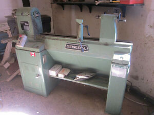 General 260 wood lathe with variable speed