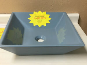 DISPLAY CLEARANCE RONBOW VESSEL SINK SALE $279