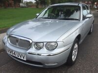 P/X TO CLEAR ROVER 75 CLUB AUTOMATIC 2.0L PETROL LOW MILEAGE FULL 12 MONTHS MOT
