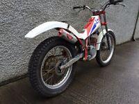 Classic gas gas 327 trials bike,project,restoration