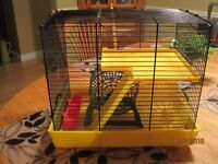 Hamster Cage - 2 Levels