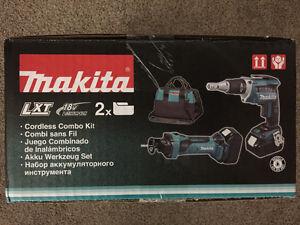 Makita drywall combo kit