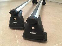 BMW 3 Series (E90) Thule Roof Bars