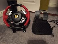 Thrustmaster Ferrari 458 steering wheel
