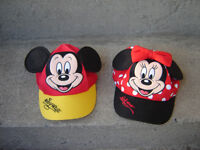 MICKEY MOUSE KID'S HAT & MINNIE MOUSE/TOYS