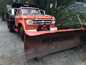 5 Ton Salter with 10' Snow Plow