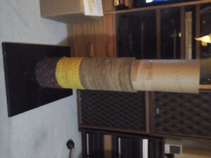 Cat Scratch Post - Home Made ....