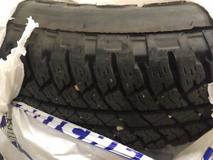 Winter Tires with Rims for Jeep
