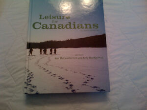 Leisure for Canadians Second Edition