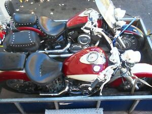 yamaha v star 1100  classic complet pour pieces y
