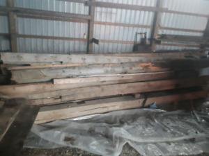 Barn beams and boards