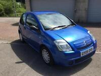 2005 Citroen C2 Design 1.1 Aqua Blue Metallic