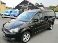 2013 Volkswagen Caddy Maxi C20 Life TDI Diesel AUTO MPV WAV Black 42K Miles