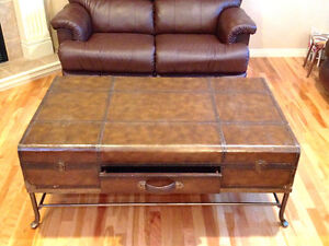 Unique Trunk Style Coffeee Table