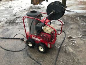Dynablast hot water pressure washer