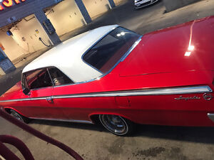 1962 impala car is mint for its age!!!