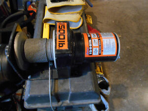 New 1500 electric Winch (Never Used)