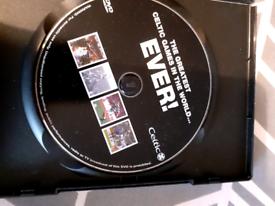 Celtic best ever games DVD