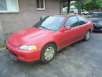 1994 Honda Civic SI Coupe (2 door)