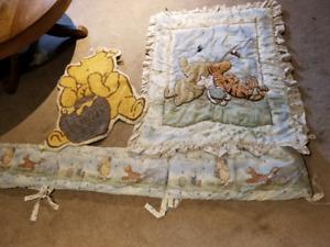 Winnie the Pooh Crib blanket