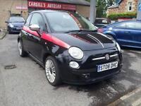 FIAT 500 SPORT, Black, Manual, Petrol, 2008