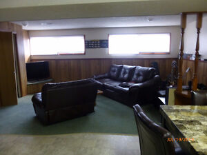 Bright, large 2 bedroom basement suite.  Close to College