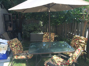Patio Dining Table Set