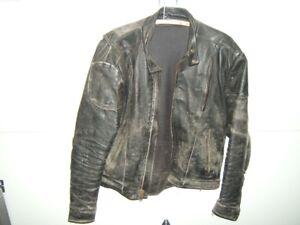 Leather vest ,Jacket , chaps
