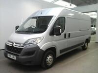 2015 CITROEN RELAY 35 HDI 130 HEAVY L3 H2 ENTERPRISE LWB MEDIUM ROOF VAN LWB DIE