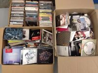 180 CD albums + 300 promo cd's £30 most brand new